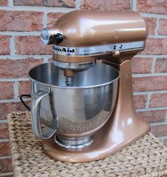 how to paint a kitchenaid mixer a new color diy pinterest