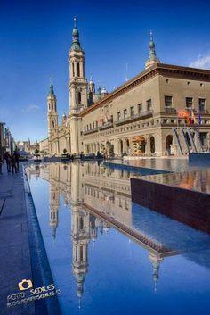 Plaza de las Catedrales. Zaragoza