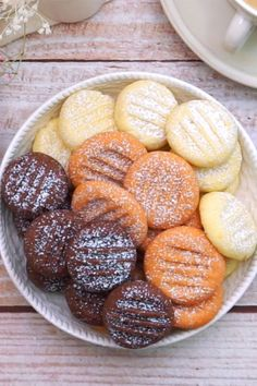 Delicious Cookie Recipes, Sweet Recipes, Baking Recipes, Biscuit Cookies, Cupcake Cookies, Pudding Cookies, Gluten Free Cookies, Christmas Nails, Bakery
