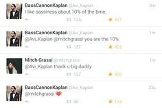 I love how Mitch calls him big daddy