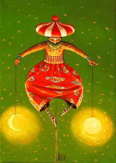 The Equilibrist by KALACHEVA MARIANA