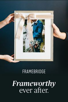 The easiest, most affordable way to custom frame everything you love.