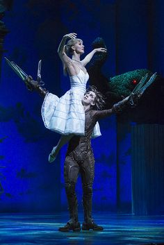 Ashley Shaw, Dominic North Edward Scissorhands, Matthew Bourne. I don't think I drew a breath the whole way through. Ended up in floods of tears at the end. Completely stunning! Matthew Bourne is a hero of mine!