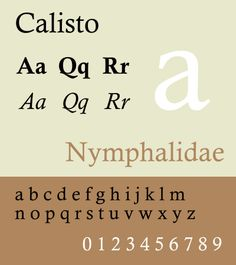 Calisto is a free and usable system font. See this specimen, sample for it's style. Selection: www.rotterdam-vormgeving.nl