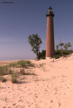 Little Sable Point Lighthouse in Silver Lake State Park,MI