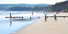 Sandown has one of the best beaches on the isle of Wight and the island has lots more beside! #isleofwight #beach