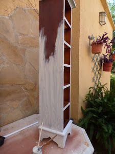 Gracias a este proceso de decoración cualquier mueble de la casa se convertirá en la estrella. Rustic Chic, Shabby Chic, Chalk Paint, Ideas Para, Ladder Decor, Repurposed, Decoupage, Projects To Try, Diy Crafts