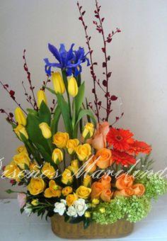 Arreglo floral grande 2