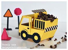 Cute dump truck using svg cuts files! @mod paperie