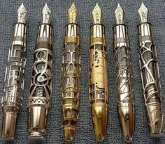 Doctor Who fountain pens