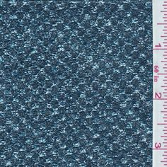 Aqua Blue Metallic Brocade - Discount Fabrics