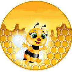 Recolor   Picture Bee Rocks, Bee Pictures, Bee Drawing, Cartoon Bee, Honey Packaging, Sculpture Lessons, Cute Bee, Bee Art, Bee Crafts