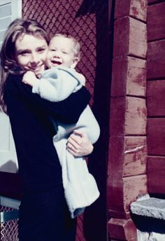 With son Audrey Hepburn - Google Search