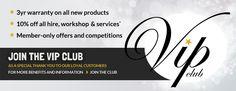 VIP Club from @absolutemusicuk | Showcase: www.sweettoothrewards.com/client-showcase
