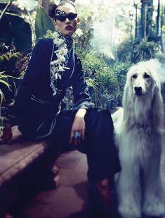#KarlieKloss: #Vogue Germany December '11