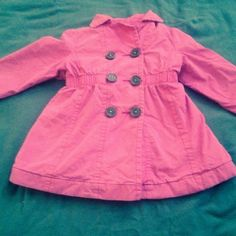 Check this item I am selling on Totspot, the resale shopping app for kids' clothes.   Genuine kids by Oshgosh pink pea coat Genuine Kids  Love this! #kidsfashion