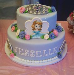 Sophia the first princess cake