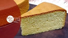 Vanilla Sponge Cake / No Baking Powder / In 2 Different Types Of Pan Chocolate Chip Cake, Chocolate Butter, Kenwood Cooking, Vanilla Sponge Cake, Sponge Cake Recipes, Steamed Buns, Buttercream Frosting, Powder, Pasta