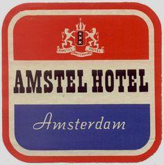 Dutch luggage decal.