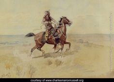 Cowboy On The Range - Charles Marion Russell - www.charlesmarionrussell.org