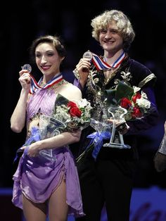 "2014 U.S. Figure Skating Championships - The beauty of a Meryl Davis & Charlie White performance tends to mask the sheer athleticism of their innovative lifts & intricate footwork. Davis & White transfixed the crowd, winning a record 6th national title. Skating to ""Scheherazade"" by Nikolai Rimsky-Korsakov, a piece they chose with Sochi in mind, the most accomplished couple in American figure skating history can now focus on the one prize that has eluded them: Olympic gold"