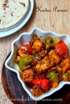 Colorful, Simple yet oh so delicious Kadai Paneer! Kadai paneer, is one of the most popular restaurant served paneer dishes apart fromPaneer Butter Masala/Paneer Makhani. Paneer lovers would love to order this in an Indian restaurant. It can be made dry or gravy. Today I'm sharing dry version. What is Kadai paneer? How it gets …
