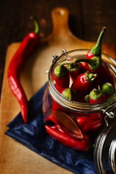 Chili Peppers by Denis Karpenkov Red Chili Peppers, Hottest Chili Pepper, Nutrition, Fruit And Veg, Stuffed Hot Peppers, Spice Things Up, Food Photography, Timeless Photography, Professional Photography