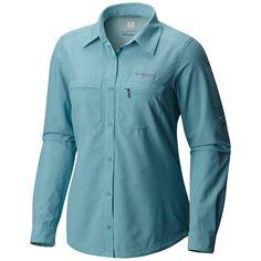 97ff7878b41 Columbia Women's Irico Long Sleeve Shirt. Material: 100% polyester. Fit:  regular
