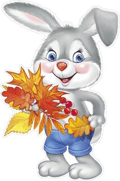 Cute Cartoon Pictures, Clip Art Pictures, Cartoon Pics, Cartoon Drawings, Cute Pictures, Baby Animals, Cute Animals, Fall Arts And Crafts, Bible School Crafts