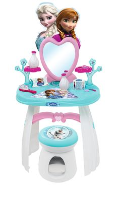 Smoby frozen hair dresser #frozen #disney #simbatoys #happy #kids #toys