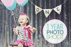 New session posted on the blog today! 1st Birthday Session