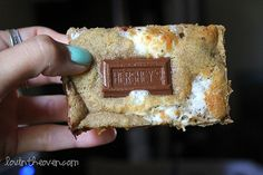 smore bar cookies