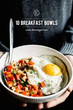 10 Breakfast Bowls to Make for a Better Morning #theeverygirl   healthy recipe ideas @xhealthyrecipex  
