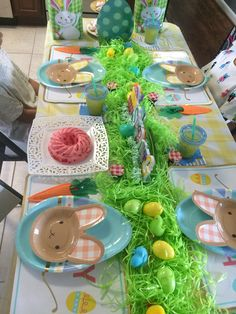 kids table Easter Day