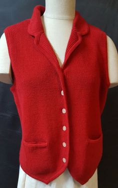 VTG LADY PICKERING Yellow V Neck XL Golf Sweater Vest Mickey Mouse ...