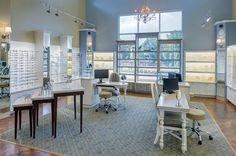 Bussey Eyecare Clinic | Optical Office Design | Barbara Wright Design