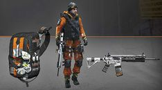 The Division - Harmat Gear Set