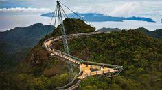 23 de los puentes más peligrosos del mundo... El #14 es francamente ATERRADOR 🌉🌉🌉