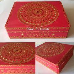 Items similar to Poppy red color, henna mandala decorated jewelry box/wedding keepsake box/memory box/ personalized box/custom box/wooden box/henna design on Etsy Wedding Keepsake Boxes, Wedding Keepsakes, Wooden Gift Boxes, Wooden Gifts, Henna Mandala, Henna Art, Money Box Wedding, Diwali Gifts, Poppy Red