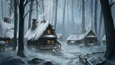 1200x679_18804_Snowy_Village_2d_landscape_snow_village_forest_picture_image_digital_art.jpg (1200×679)