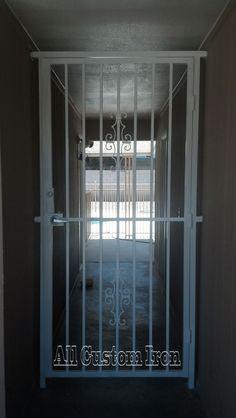 Iron entryway you can see more @ allcustomiron.com