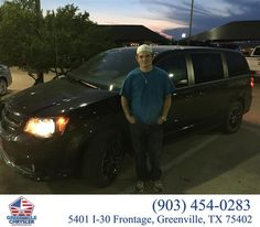 https://flic.kr/p/zZeyZf | Congratulations Nick on your #Dodge #Grand Caravan from Randall Shirley at Greenville Chrysler Jeep Dodge Ram! | deliverymaxx.com/DealerReviews.aspx?DealerCode=J122