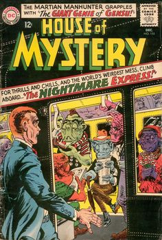 House Of Mystery #155, December 1965, cover by Jack Sparling