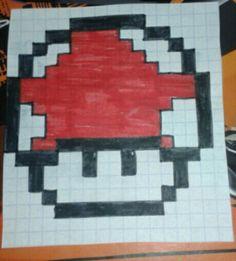 Grzybek z Mario :)