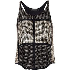 Pre-owned Isabel Marant Peachy Embellished Top (2,125 CAD) ❤ liked on Polyvore featuring tops, none, sequin embellished top, isabel marant, isabel marant top, beaded sequin tops and embellished tops