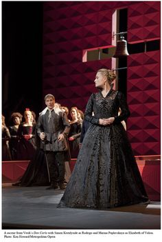 Costume worn in Verdi's Don Carlo.