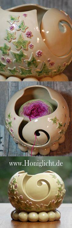 yarn bowl / Garnschale aus Keramik