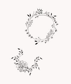 W/ child's initials & flower tats/piercings tattoos, tattoo designs, ho Flash Tattoo, Tattoo On, Piercing Tattoo, Back Tattoo, Tattoo Horse, Fern Tattoo, Mini Tattoos, Flower Tattoos, Small Tattoos