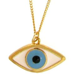 Nickel Free Mystical Lucky/Evil Eye Necklace, In Gold . $10.99. Save 69% Off!
