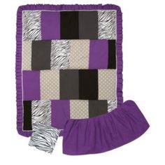 Trend Lab Grape Expectations 3-pc. Crib Bedding Set